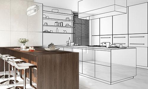 Küche schon vor dem Bau virtuell planen und in den eigenen Wänden sehen - der Küchenkonfigurator